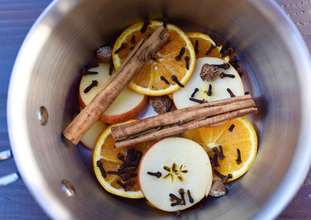 Fall potpourri on stove