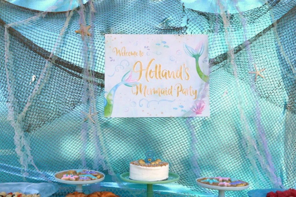 Mermaid Party Decorations and Ideas
