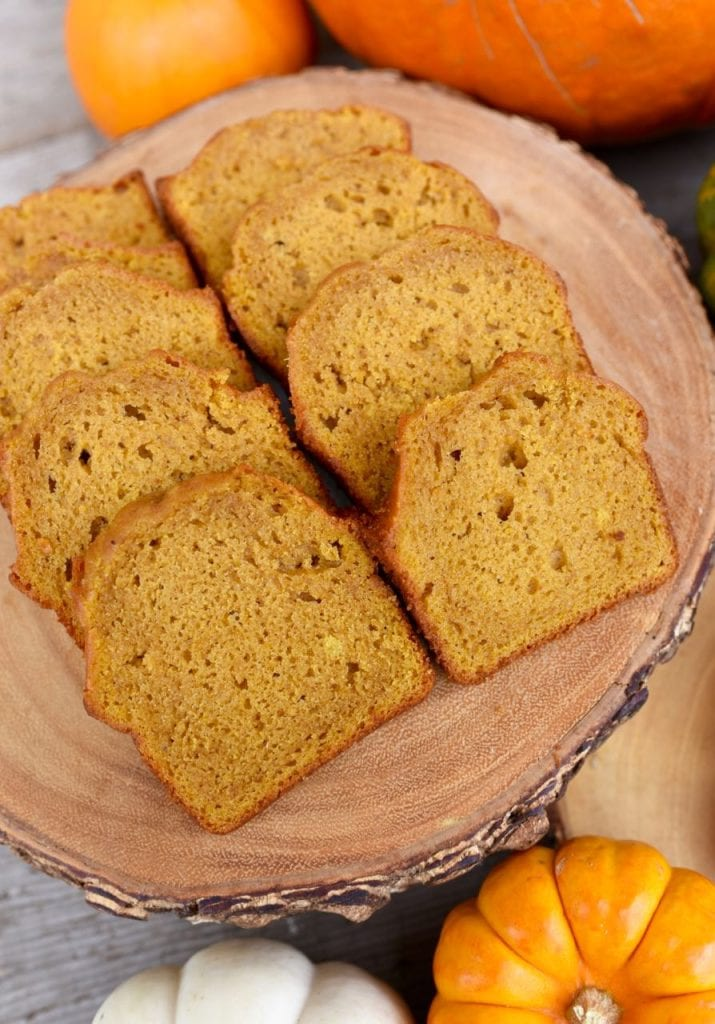 PUmpkin bread at a haunted forest Halloween party