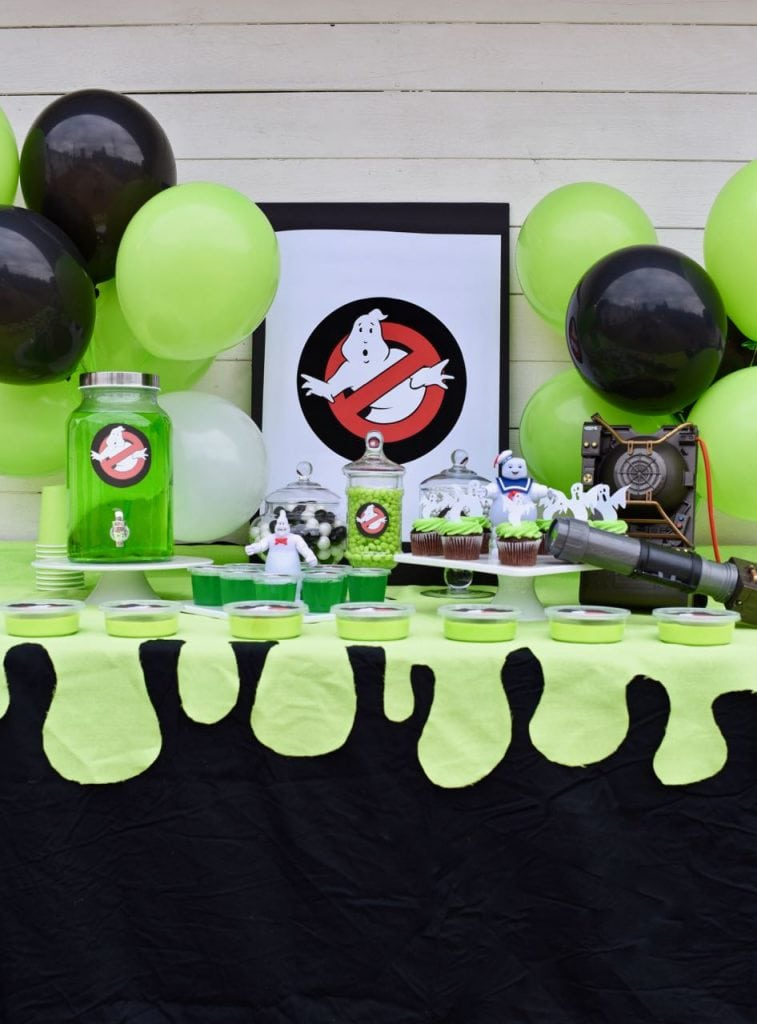 Ghostbusters party ideas. So many fun food, decoration, and party favor ideas for an awesome Ghostbusters party!