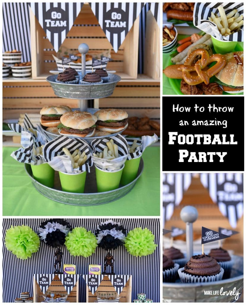 How to throw an amazing football party