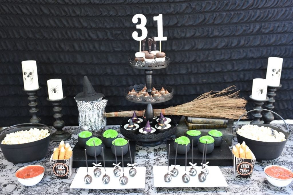 Witches tea party ideas