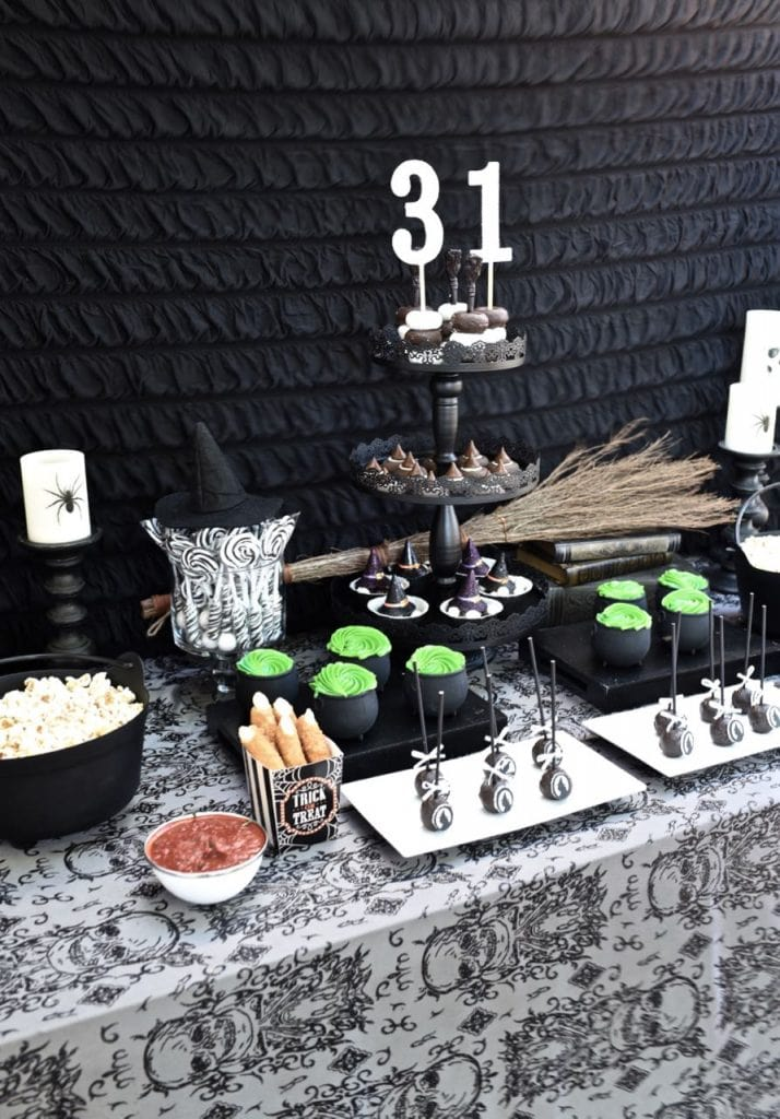 Celebrate Halloween with this incredible witch party!