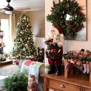 My Christmas Living Room Tour