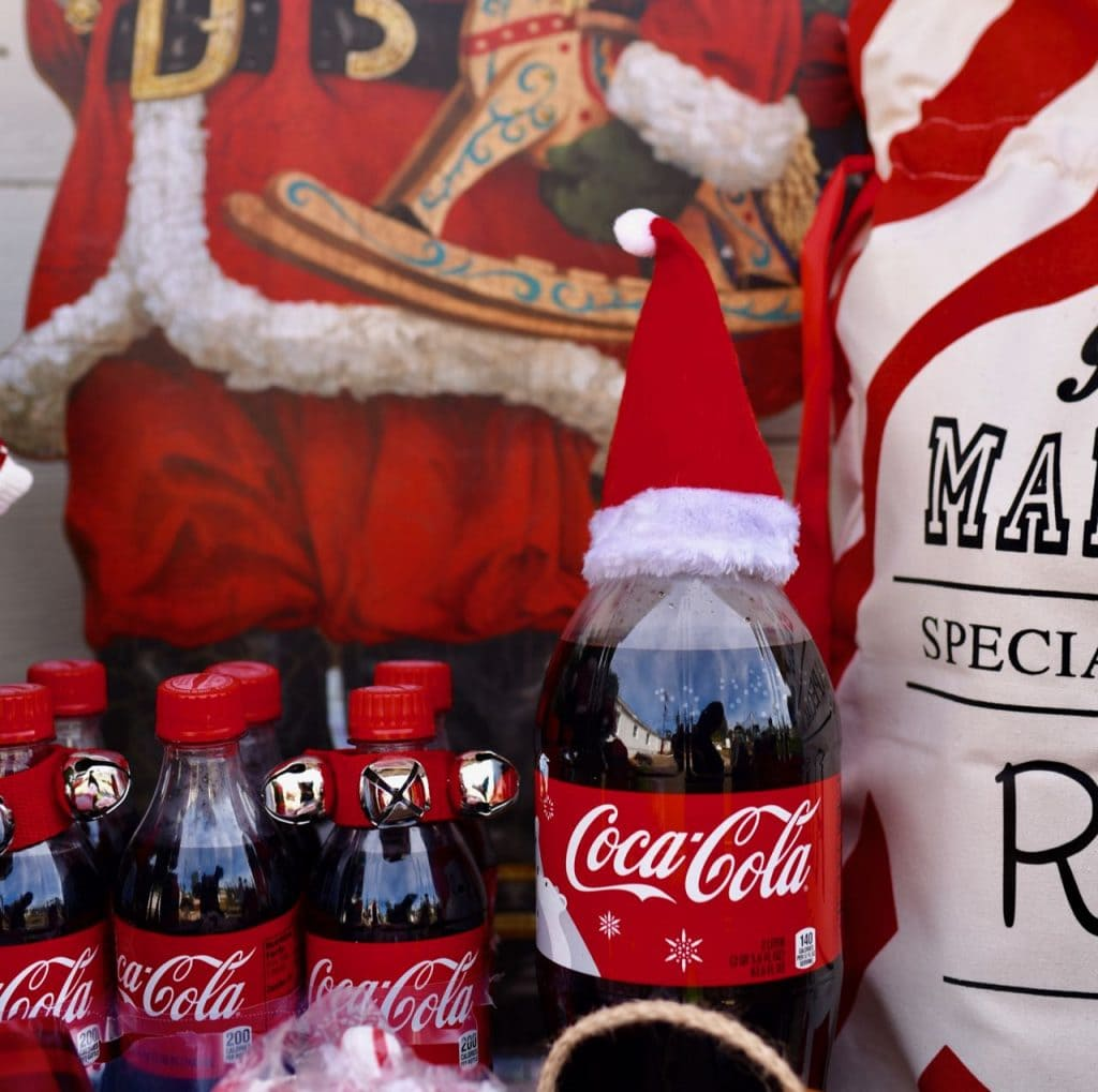 Coca-Cola at Christmas party