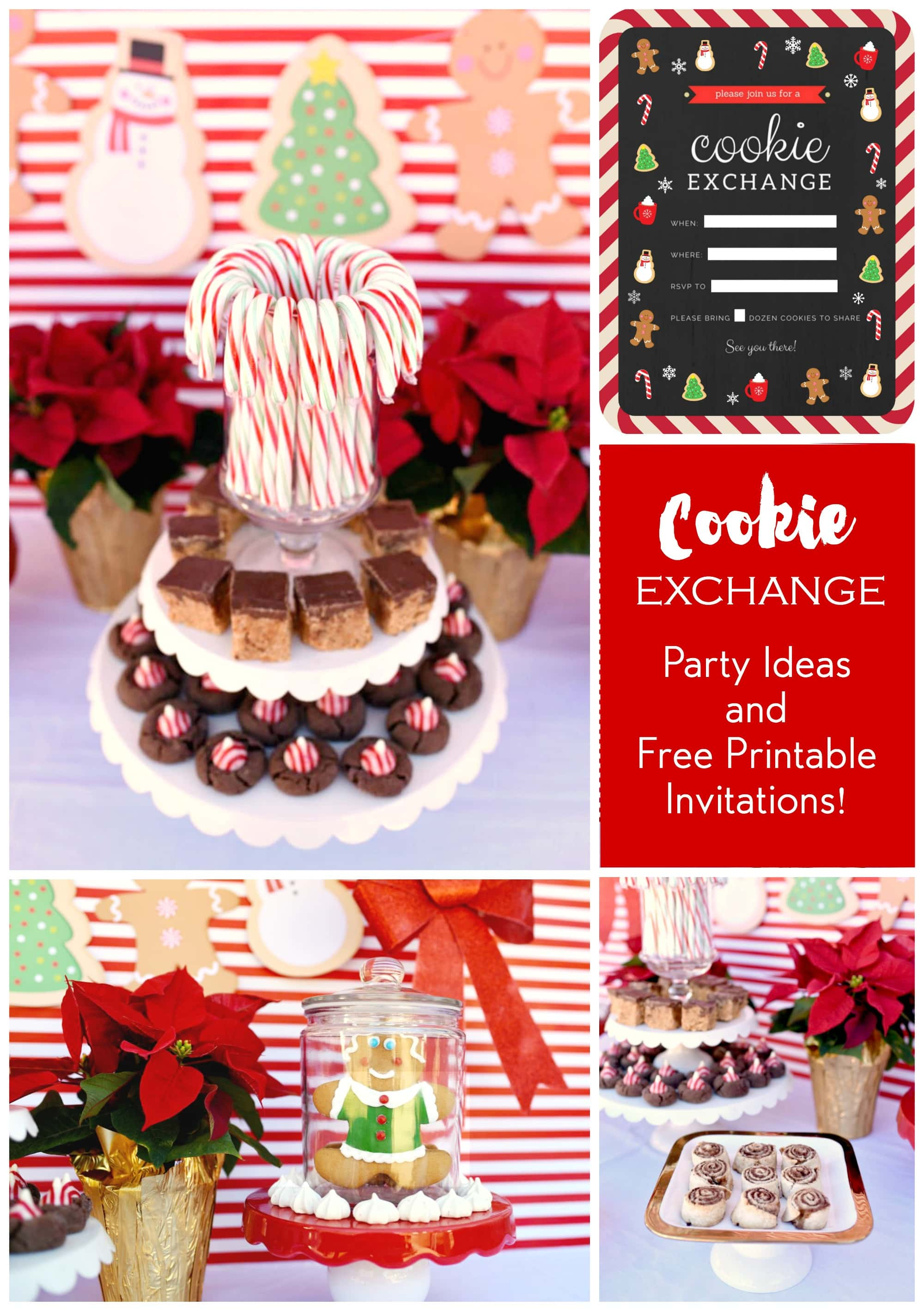 Cookie Exchange Party Free Party Invitations Make Life Lovely