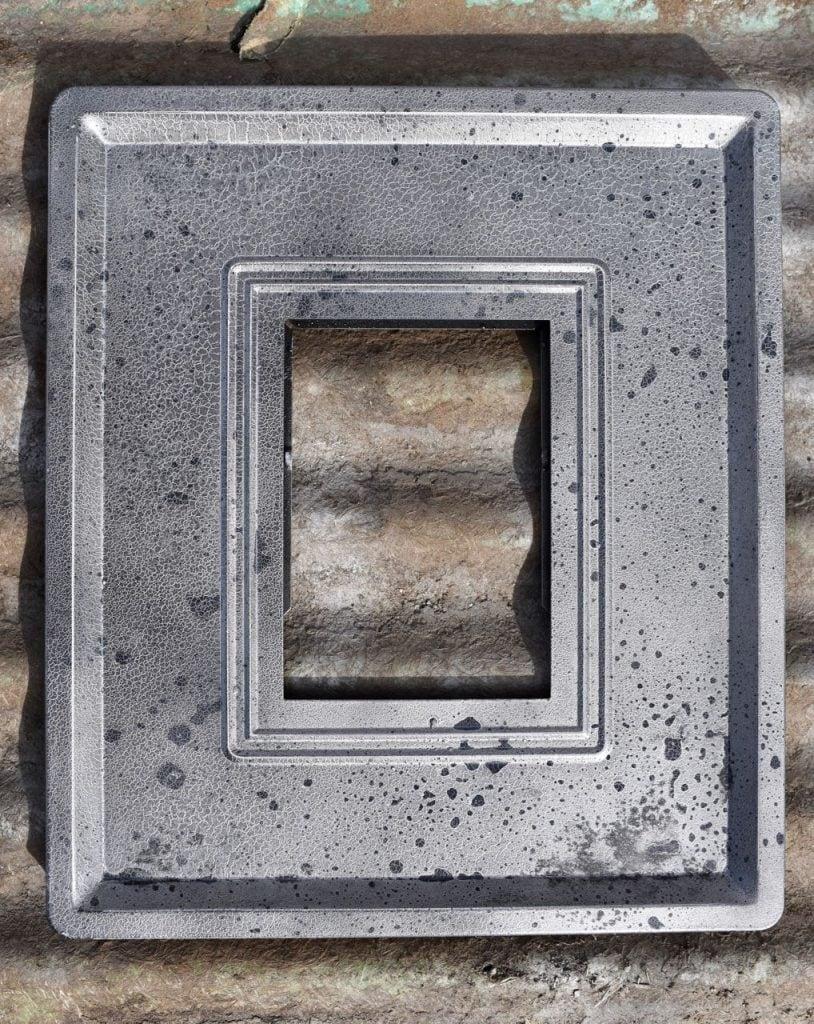 Mercury glass frame tutorial