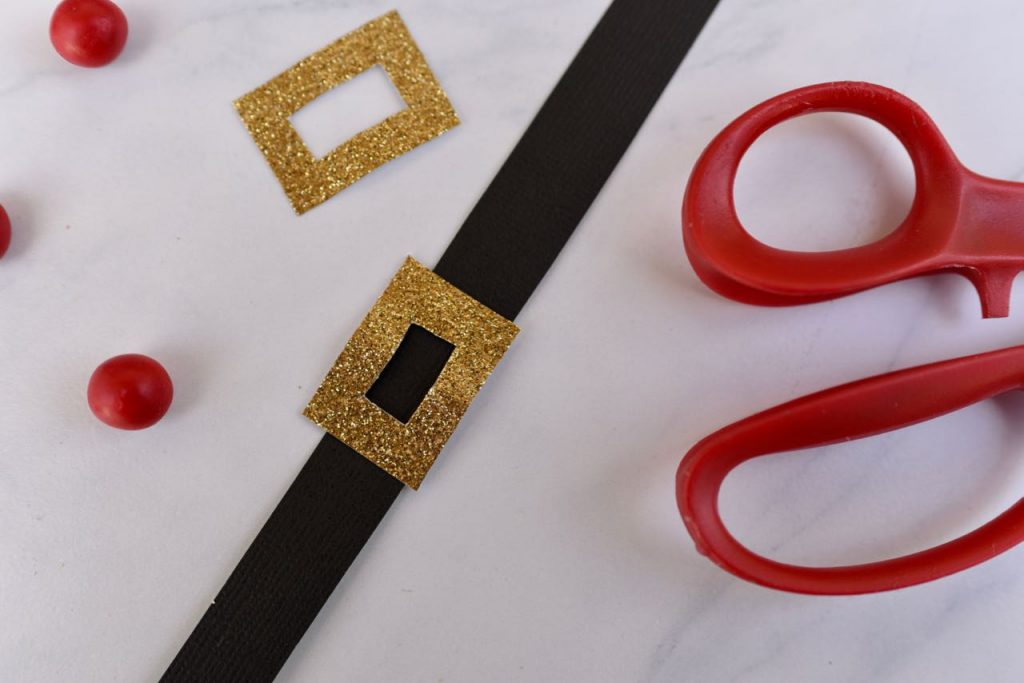 Santa belt Christmas party favor