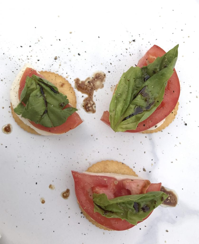 Caprese appetizer recipe
