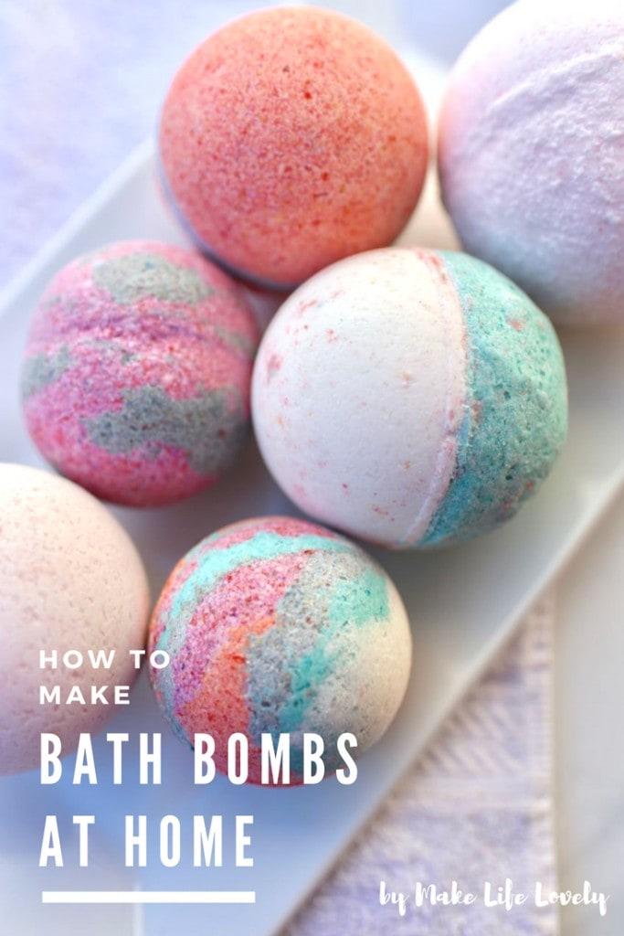 How to make Lush bath bombs