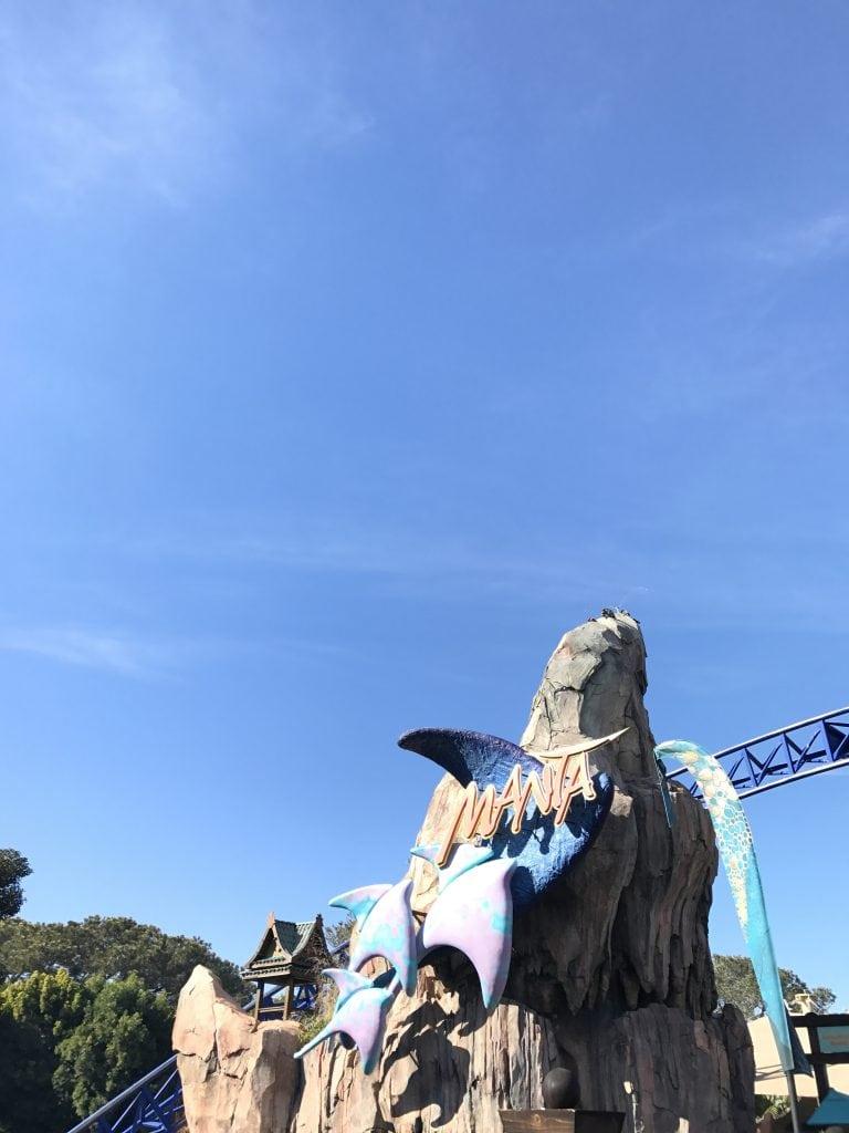 Manta ride at SeaWorld San Diego