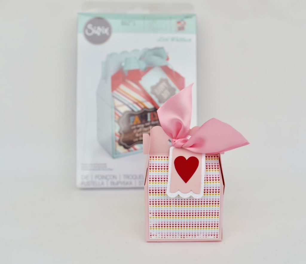 Valentine box craft with Lori Whitlock Sizzix die