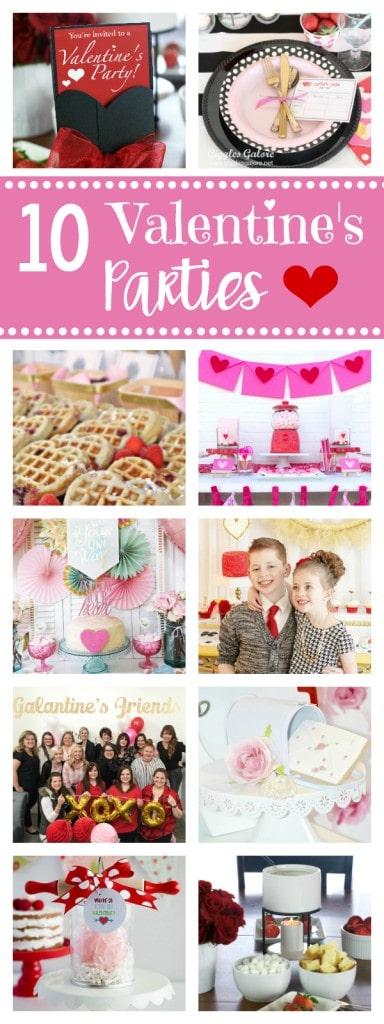 Valentines Parties Ideas