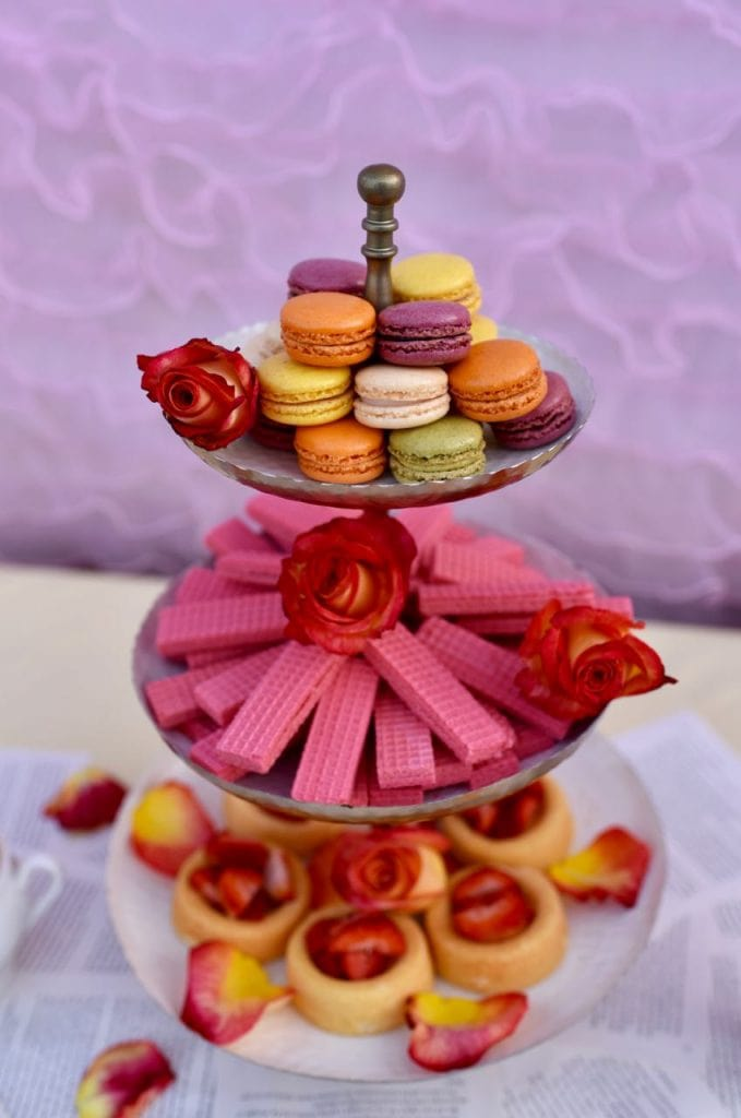 Belle Beauty and the Beast Tea Party