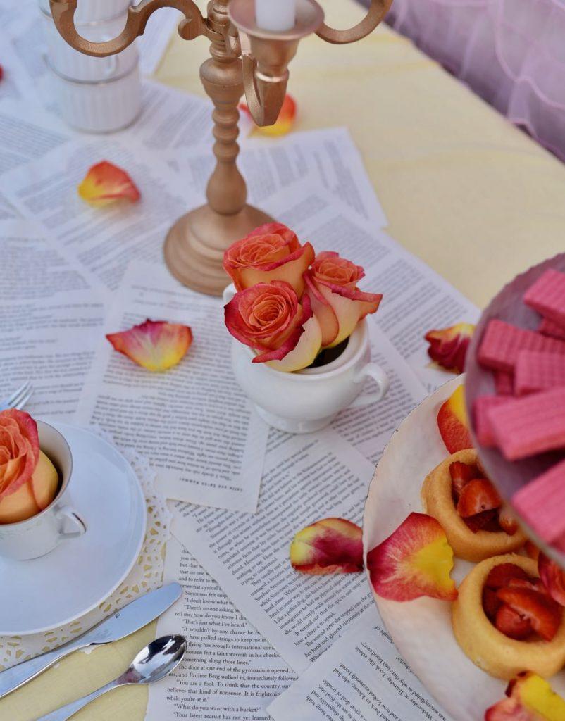 Belle birthday party ideas