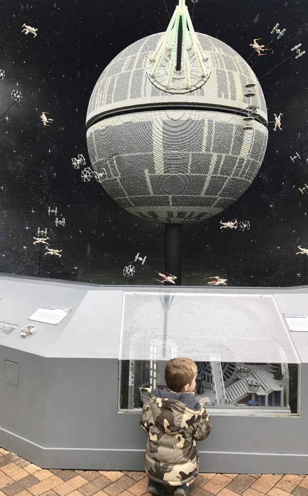 Legoland Star Wars Death Star