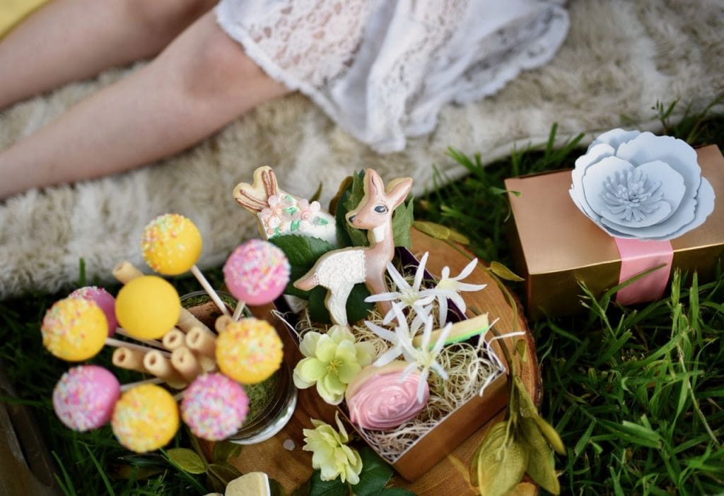 Boho woodland party ideas