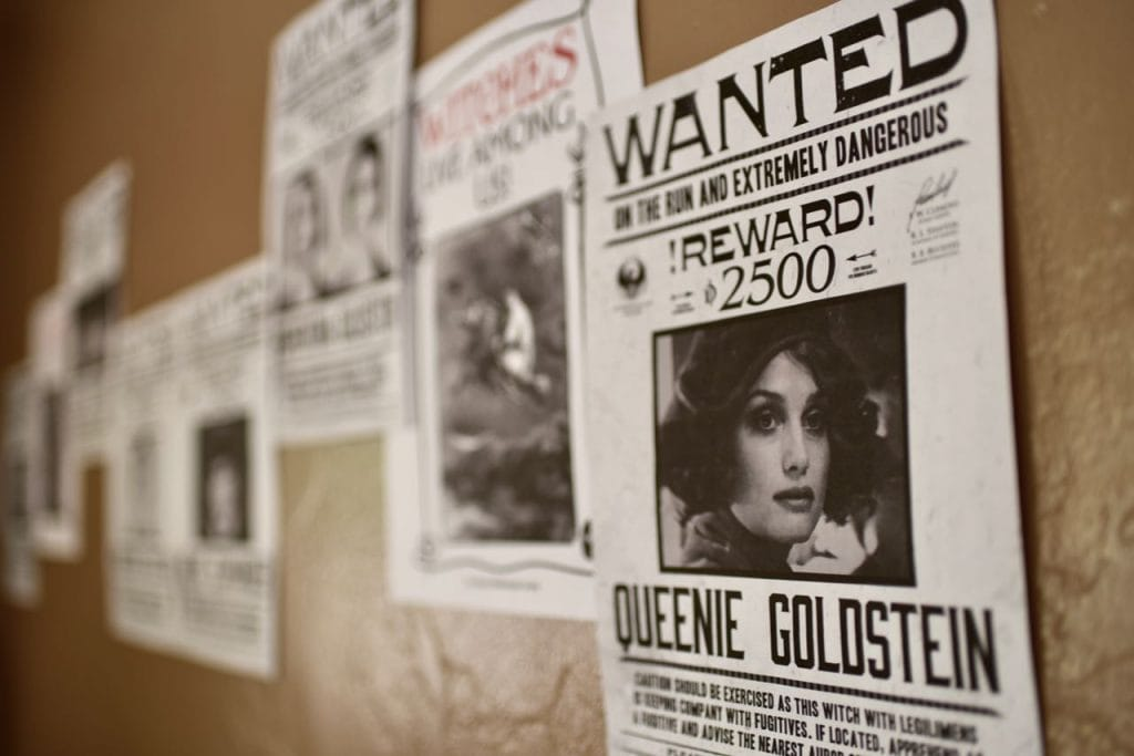 Fantastic Beasts and WHere to Find Them Wanted Posters party decorations