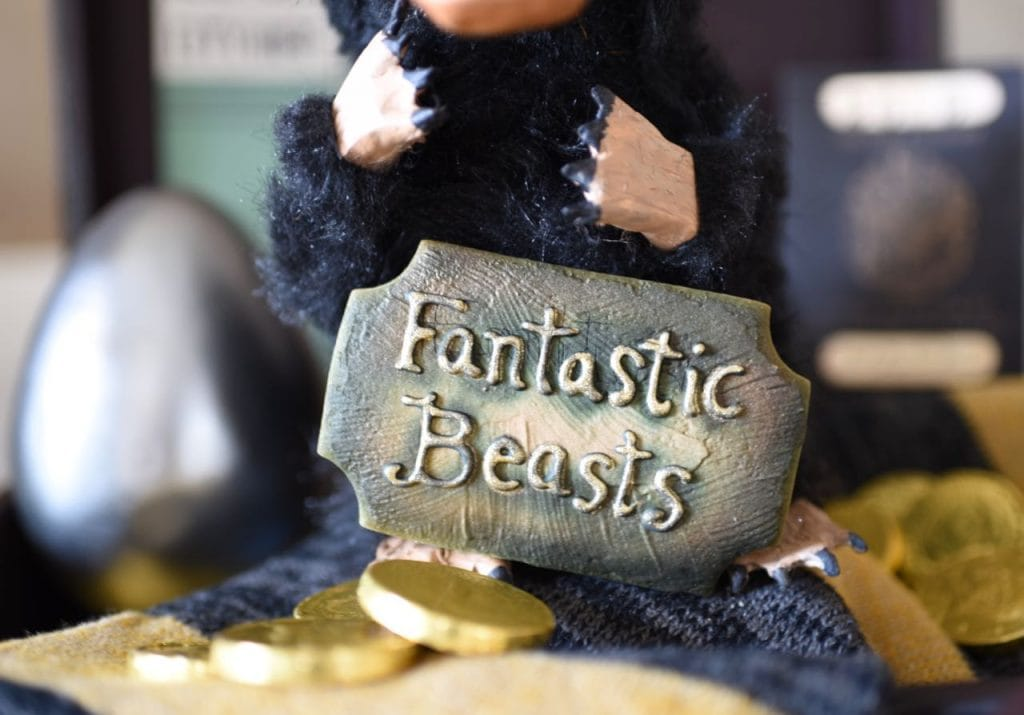 Fantastic Beasts and Where to Find Them sugar cookies at Fantastic Beasts party