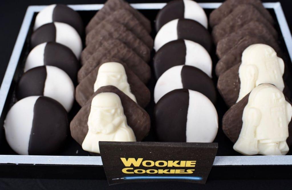 Star Wars The Force Awakens wookie cookies