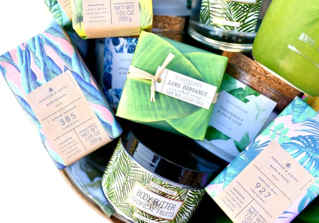 Tropical gift basket ideas for Mother's Day