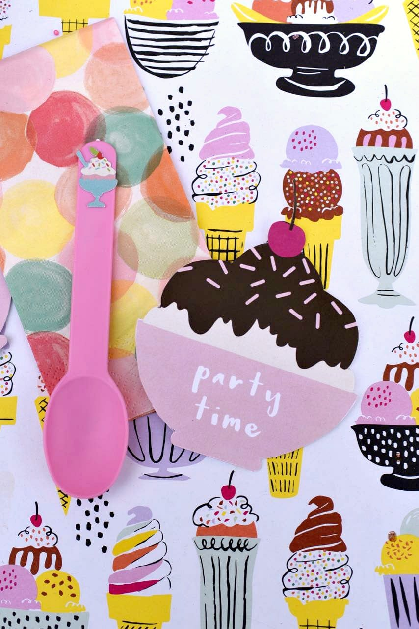 Ice Cream Party For Tweens + Cricut Explore Air Giveaway