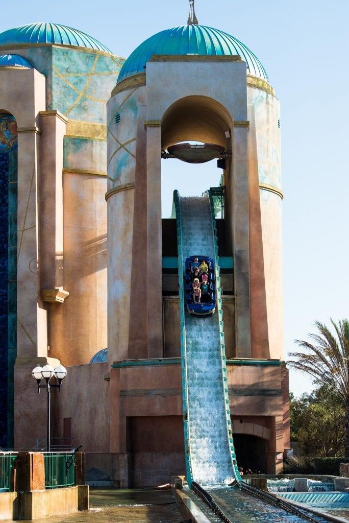 Atlantis ride SeaWorld San Diego