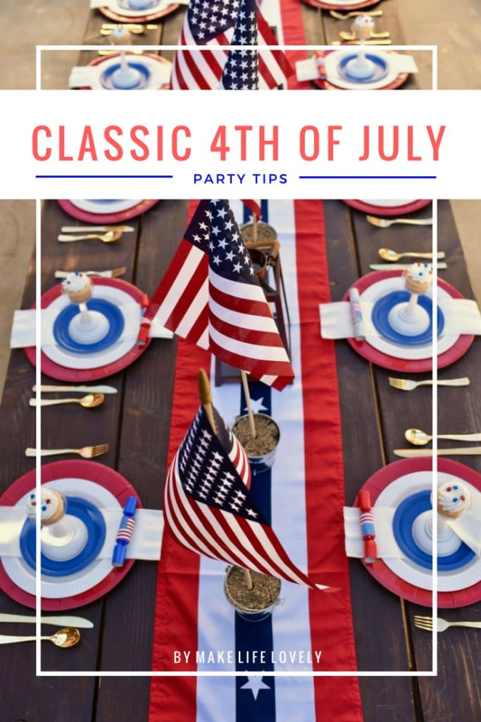 Classic 4th of July party tips