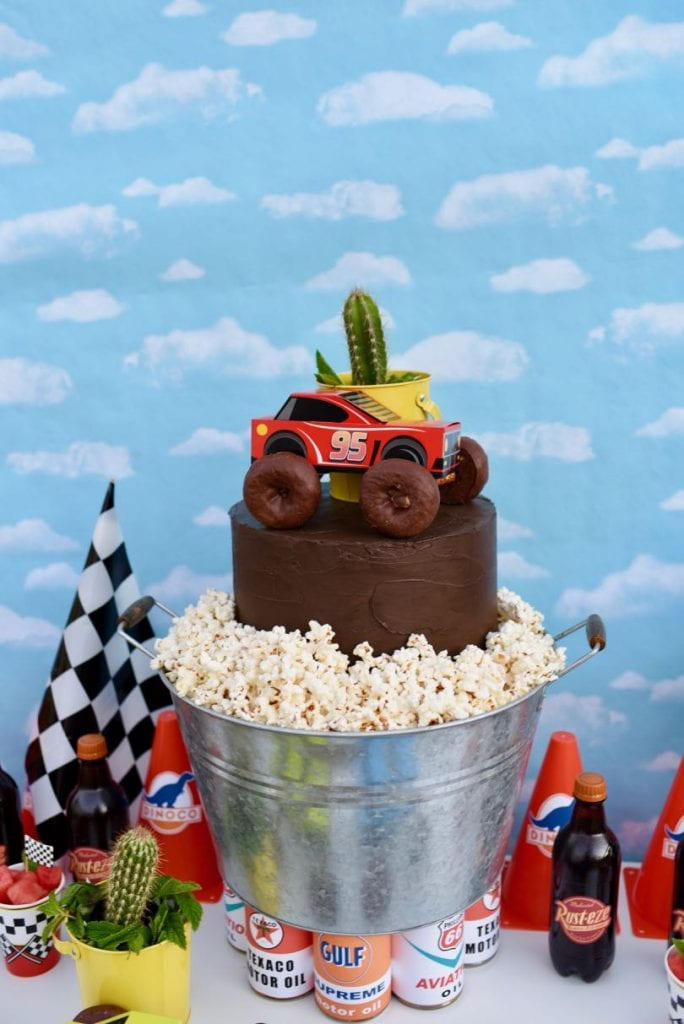 Disney Cars cake and party ideas