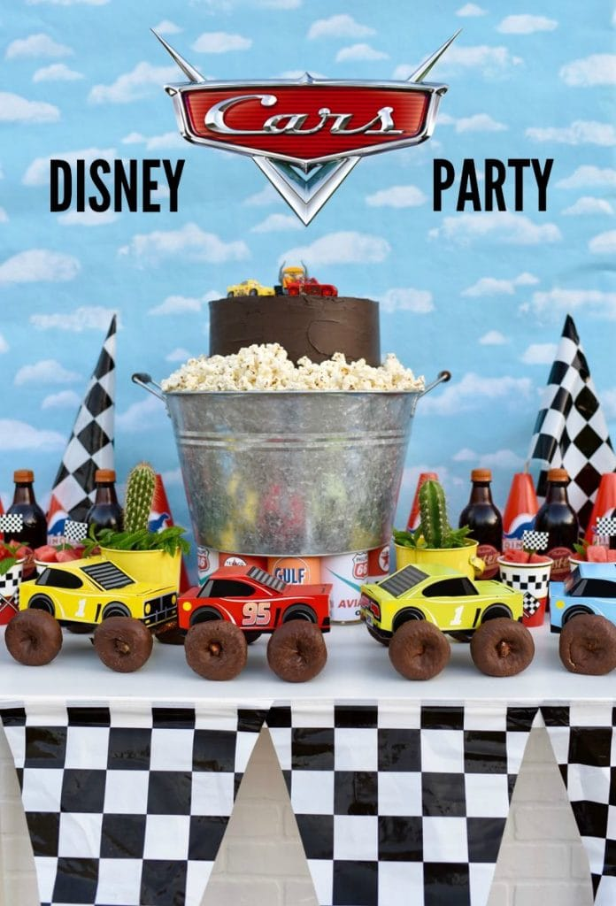Disney Cars party ideas with lots of cool Cars details!