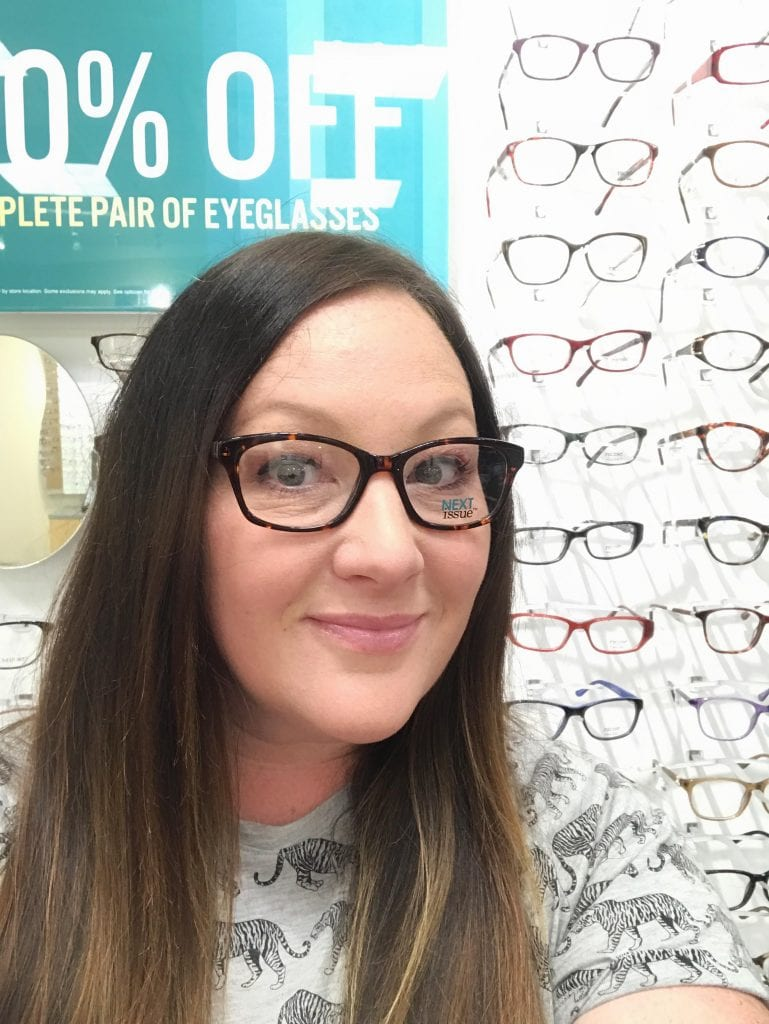 Getting glasses at JCPenney Optical
