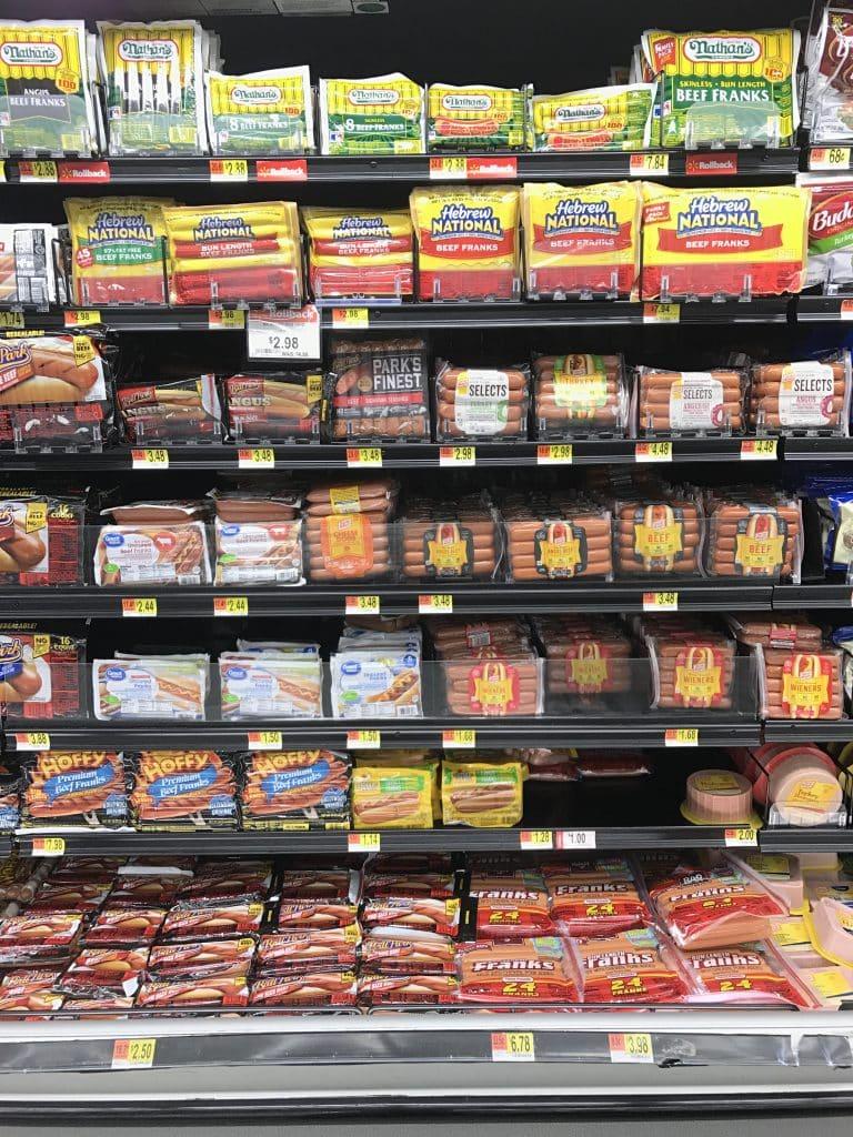 Hebrew National at Walmart