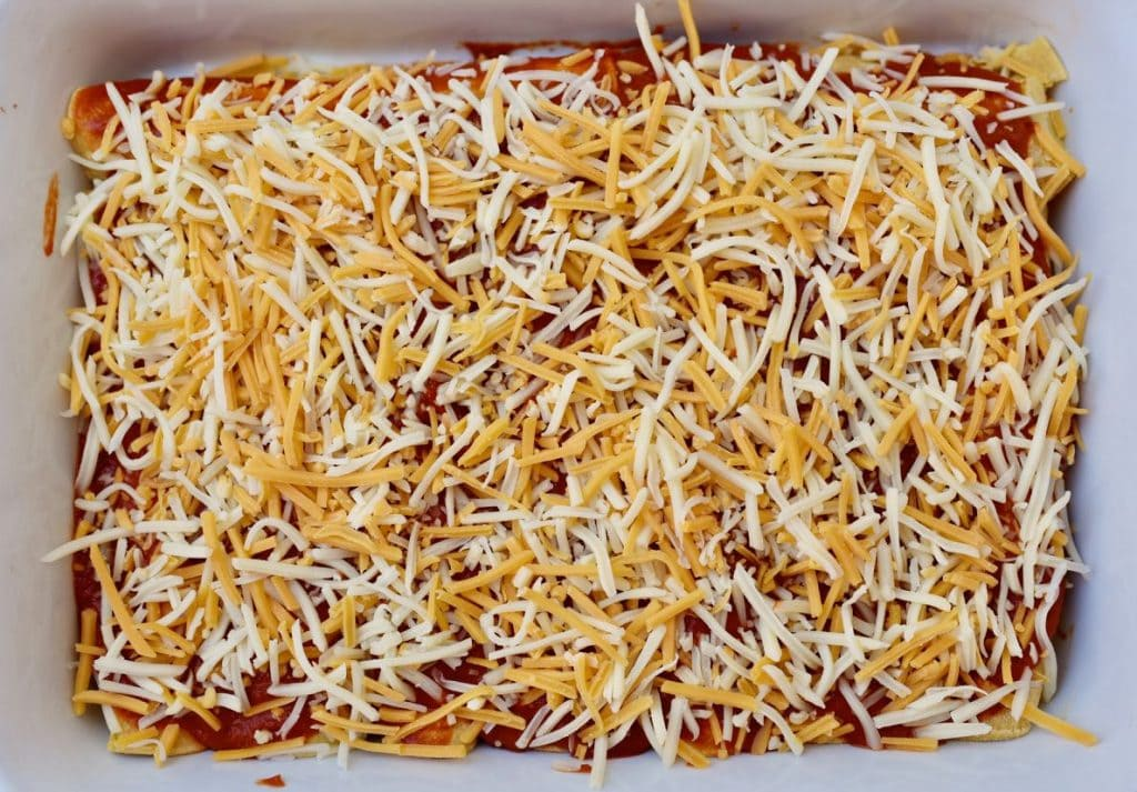 Homemade enchiladas recipe