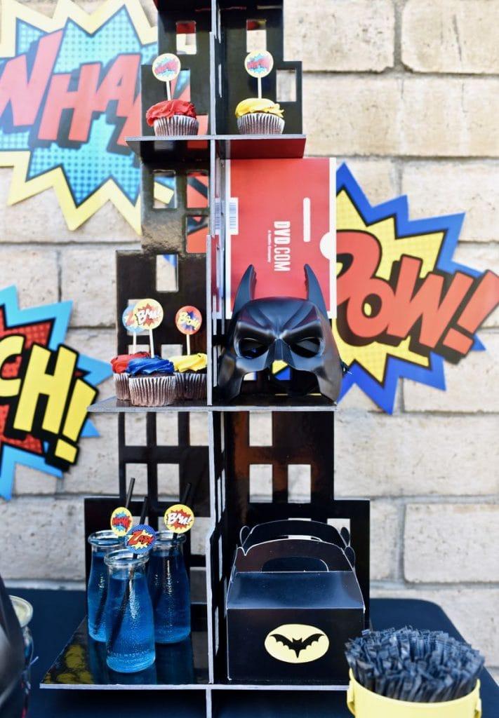 LEGO Batman party details