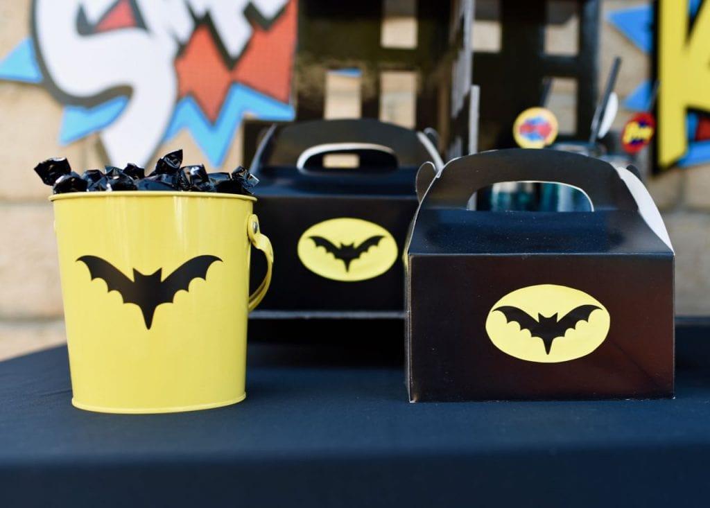 LEGO Batman party favors