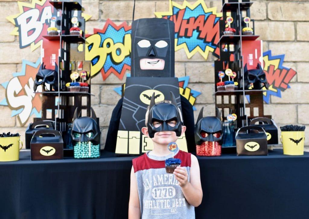 LEGO Batman party for boys