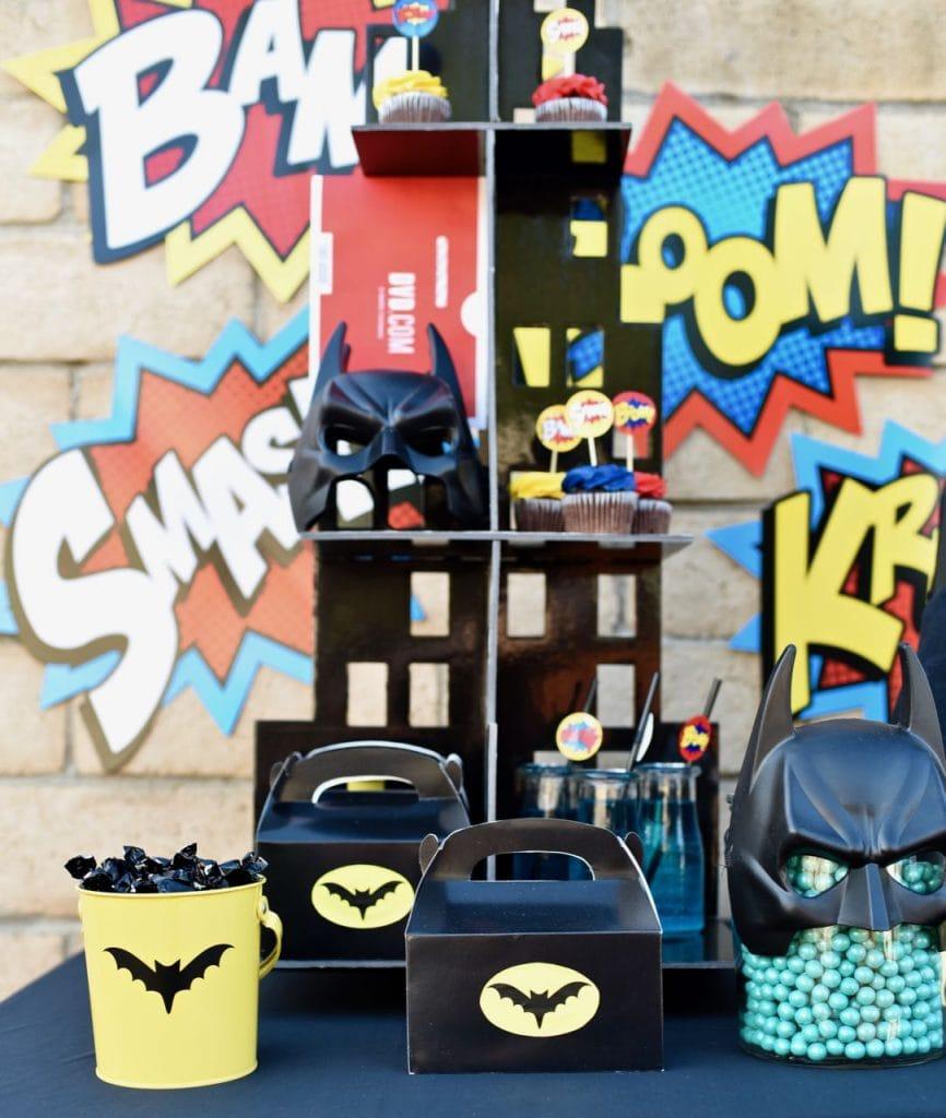 LEGO Batman party theme