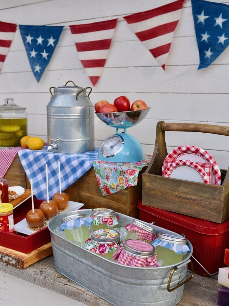 Old fashioned county fair party