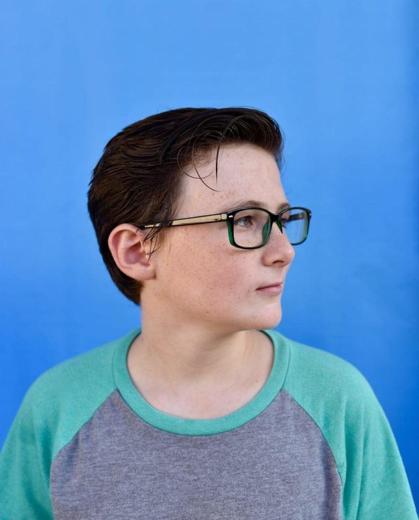 Back to school glasses shopping for kids