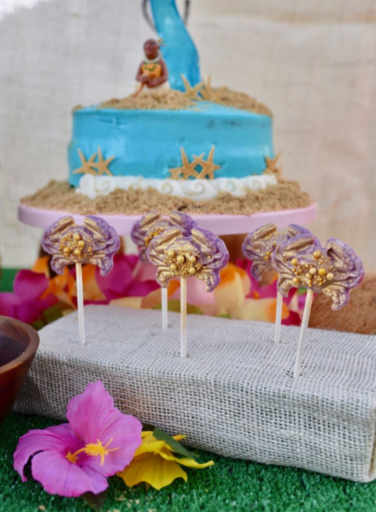 DIY Tamatoa Moana party food