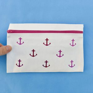 No Sew Pencil Case That's Easy To Make