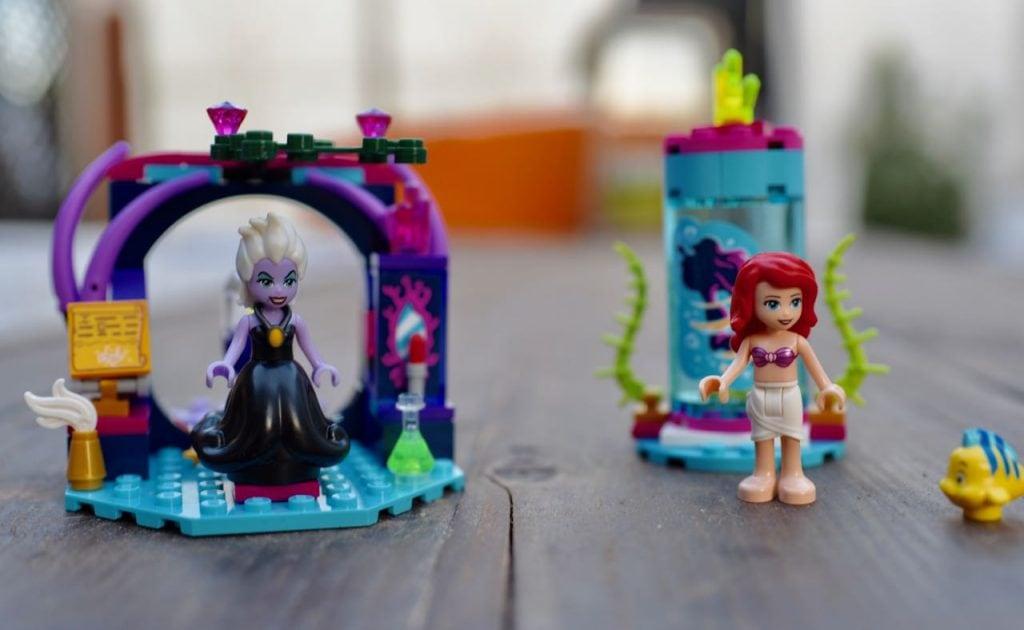 Ariel Little Mermaid LEGO set Disney
