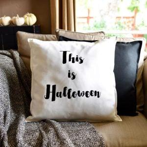 DIY Halloween Pillow with Cricut Explore Air 2