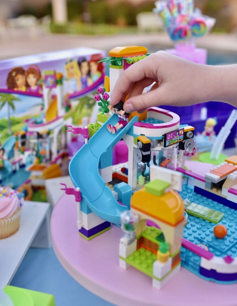 LEGO Friends Heartlake Summer Pool Set at LEGO Friends party