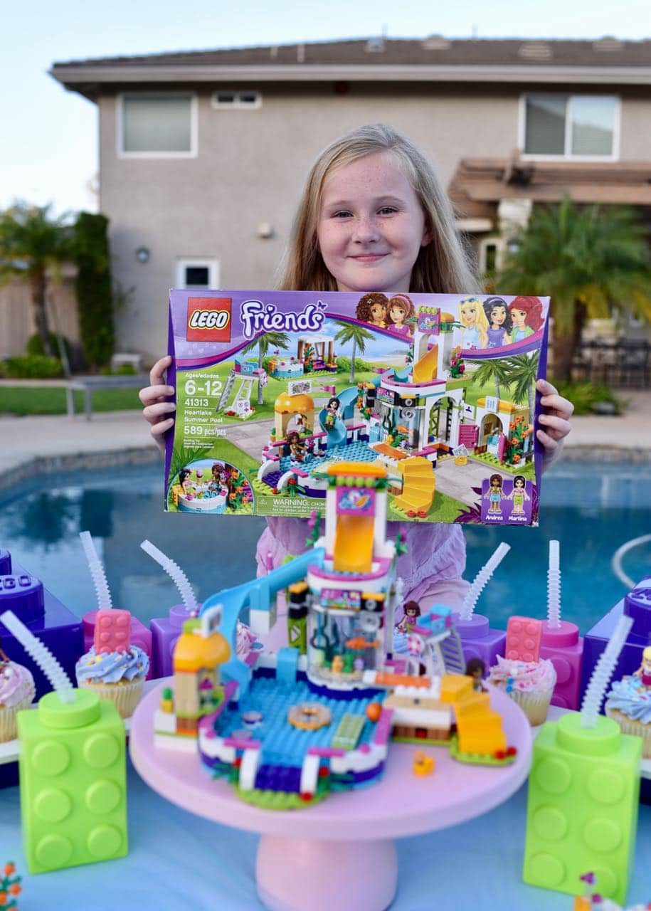 Lego Friends Party Poolside To Celebrate The End Of Summer Make