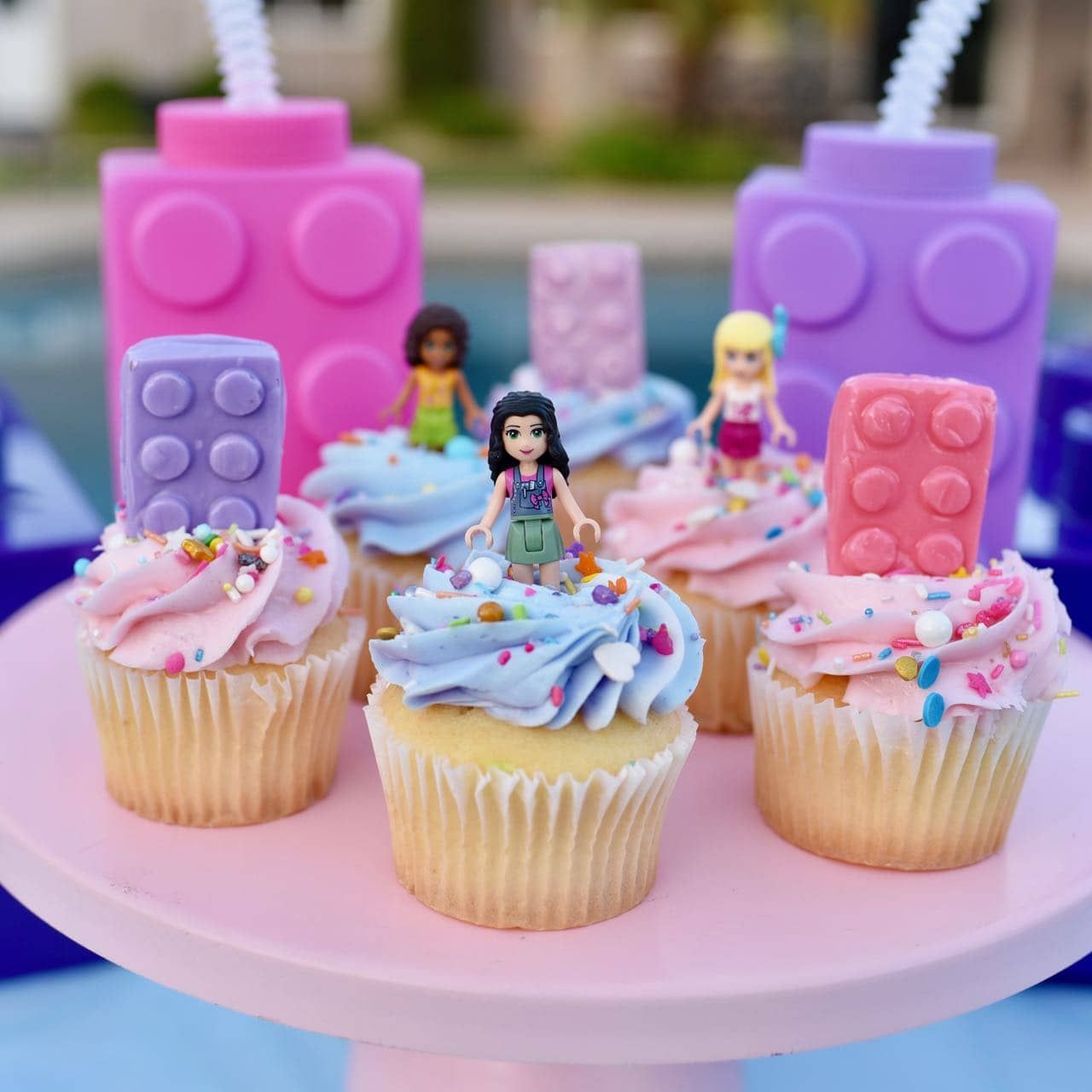 Awe Inspiring Lego Friends Party Poolside To Celebrate The End Of Summer Make Personalised Birthday Cards Paralily Jamesorg