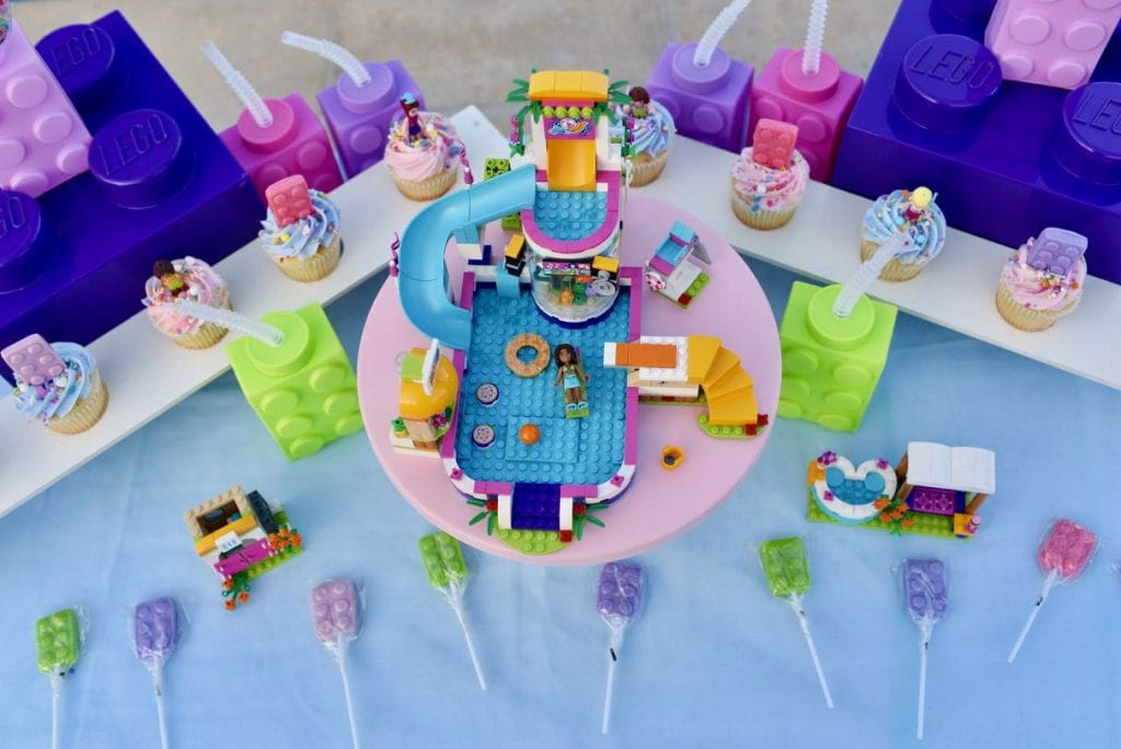 LEGO Friends pool party