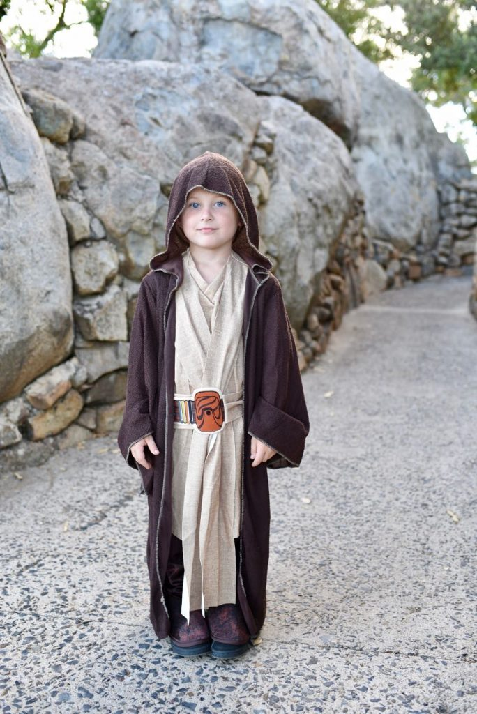 Star Wars Halloween costume Jedi