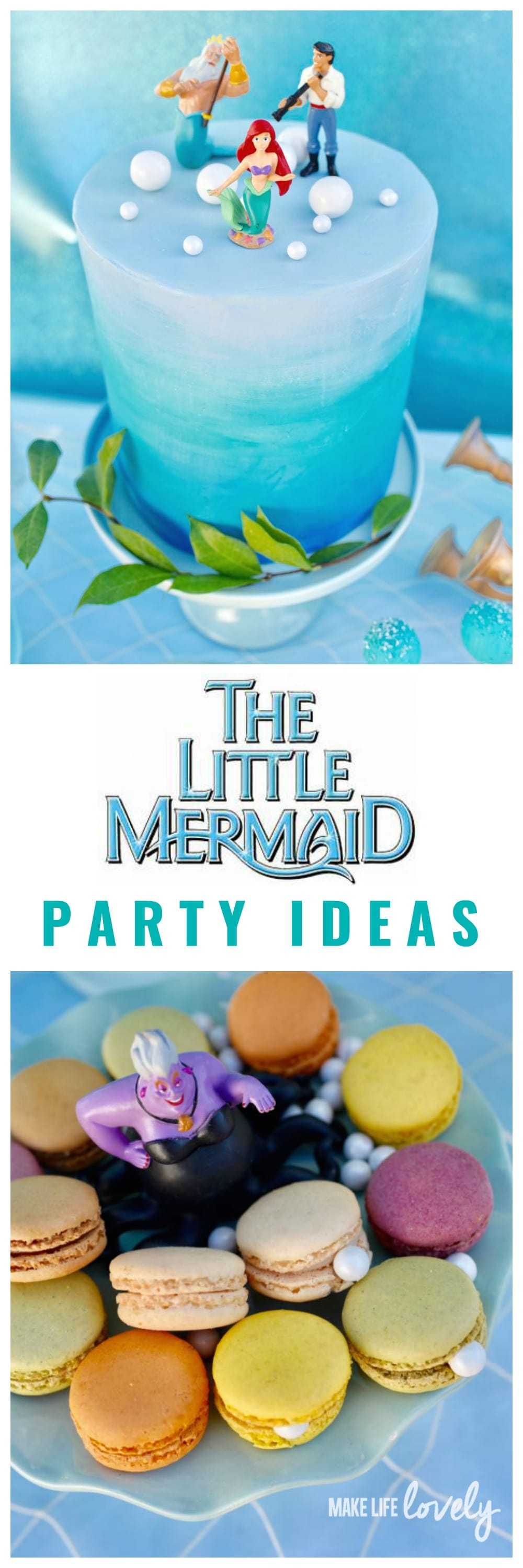 Little Mermaid Party Under The Sea With Lego Make Life Lovely