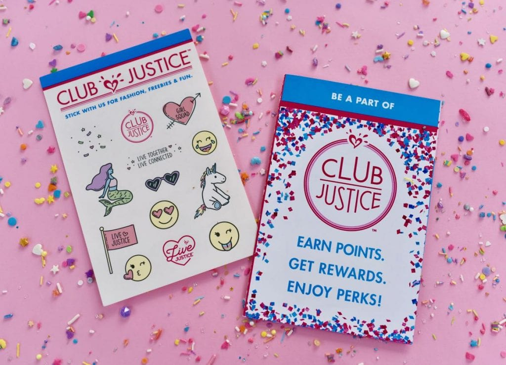 Club Justice Rewards Program